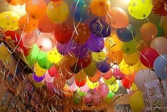 Праздничные шары – обязательный элемент хорошего празднования!