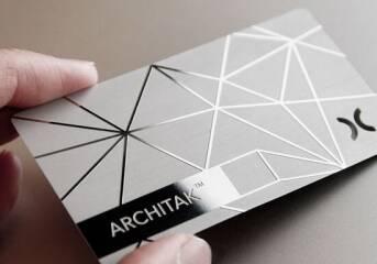 Металлические визитки или картонные: какие выбрать?