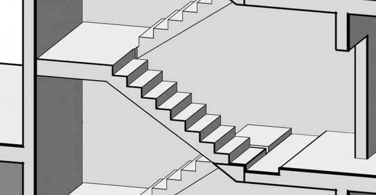 Особенности выбору лестничных маршей