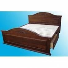 Різьблені дерев'яні ліжка – прикраса вашого дому!