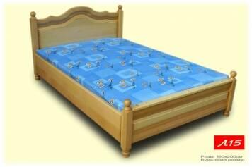 Поповнення в асортименті – полуторні ліжка з дерева!