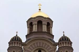 Золоті куполи: відновлення Кафедрального собору у Ризі