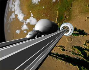 Космические лифты будут бороздить просторы Вселенной?