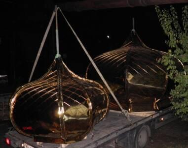 У Варні завершилися роботи з встановлення купола собору