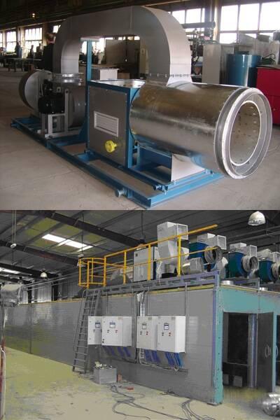 Створено установку для термічної обробки стінових матеріалів