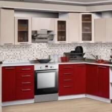 Оригинальный дизайн кухонной мебели от Малко