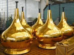 Покриття нітридом титану вбереже металоконструкції від корозії і атмосферних впливів