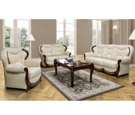 Кожаная мягкая мебель по сниженным ценам до конца лета!