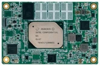 NanoCOM-APL - новый компактный процессорный модуль COM Express Type 10 производства компании  AAEON Technology