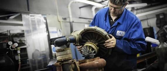 Ремонт турбін і двигунів Дойц в Україні виходить на новий рівень