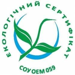 TM EcoLine має право на застосування екологічного маркування - знак «Зелений журавлик»