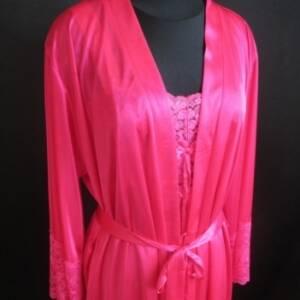 Интернет-магазин Bazar представляет соблазнительную и роскошную  модель женского пеньюра с халатом