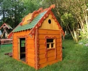 """Виготовлення дитячих дерев'яних будиночків - новинки у виробництві компанії """"Буковина Зруб"""""""
