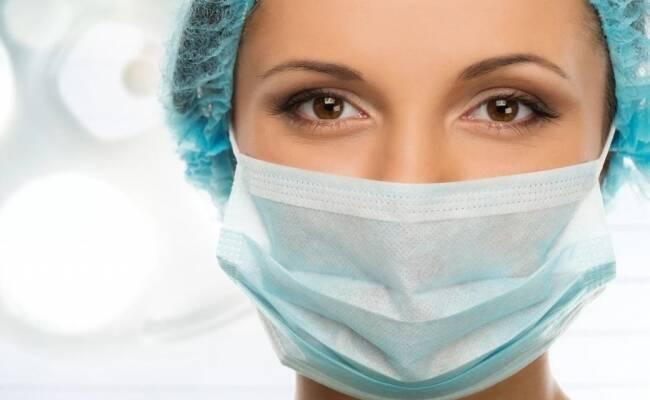 Медицинские маски из высококачественного синтетического материала