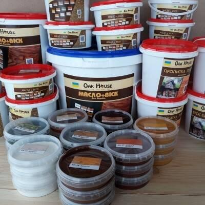 Масла і воски для обробки деревини: приємні знижки та безкоштовна доставка від Oak House