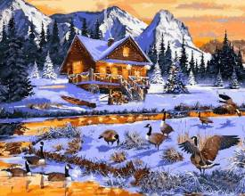Предновогоднее пополнение ассортимента: праздничные картины по номерам купить можно уже сегодня!