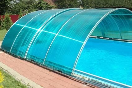 Накриття для басейнів різної конфігурації за доступною ціною