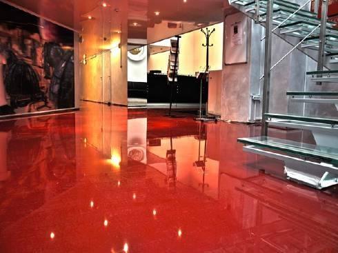 Надаємо гарантію від 1 року на декоративні наливні підлоги!