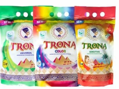ЕКО-НОВИНКА! Бесфосфатний пральний порошок нового покоління TRONA!