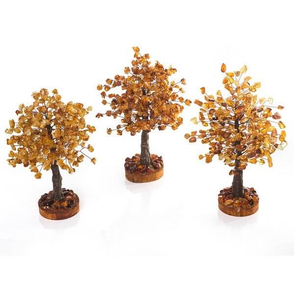 Деревья счастья из янтаря