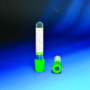 Вакуумна пробірка Vacurate, літій гепарин, 4 мл, 100 шт(фото)