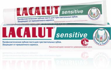 Зубна паста LACALUT sensitive(фото)
