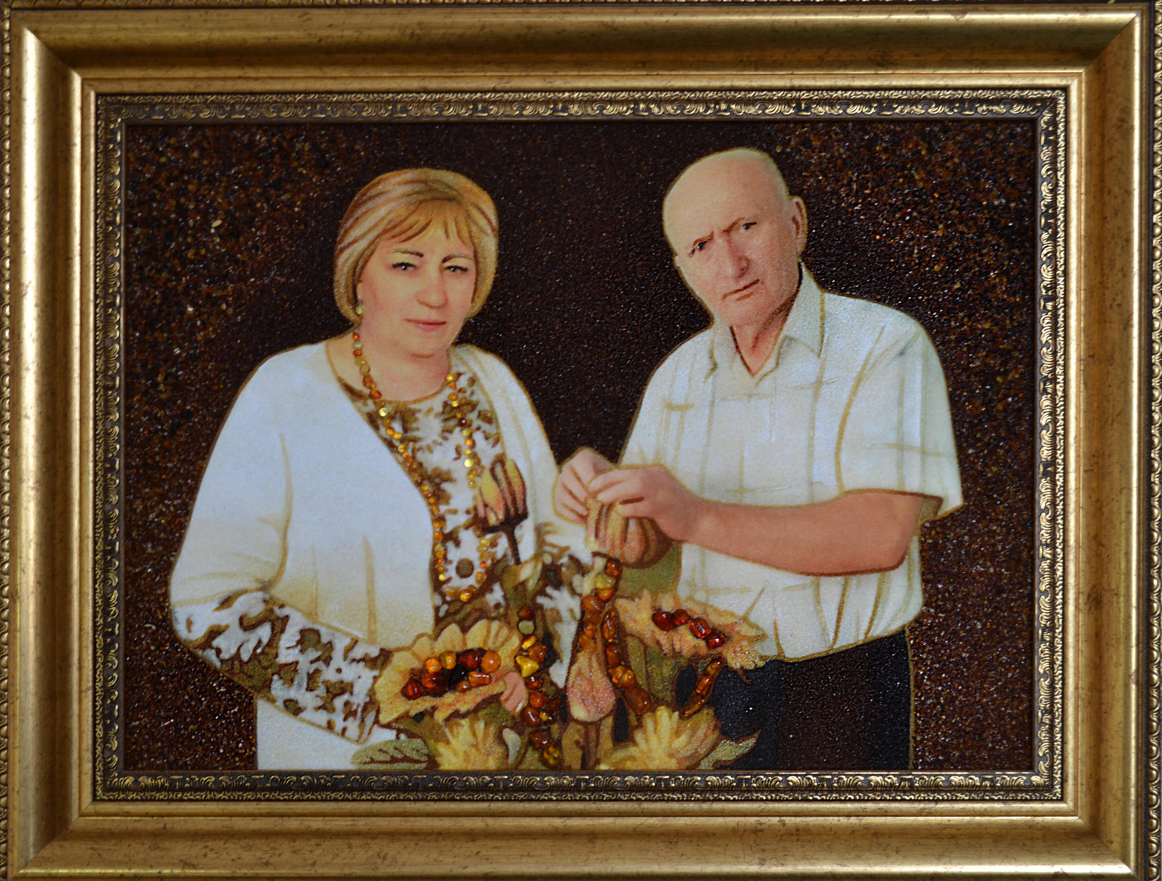 Замовити портрет із бурштину Україна (фото)
