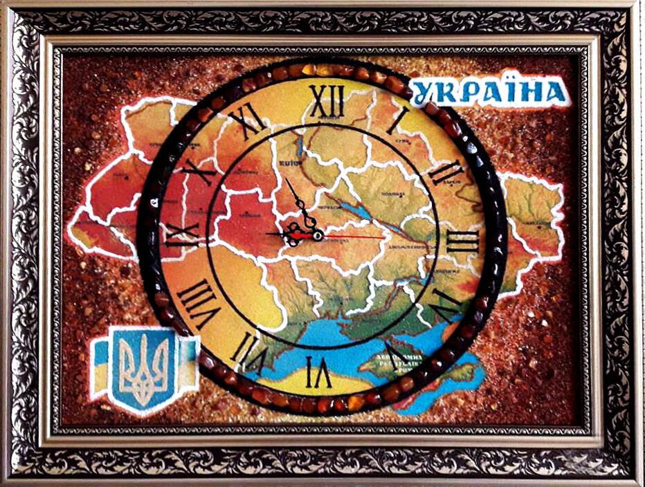 Українська символіка з бурштину Луцьк (фото)