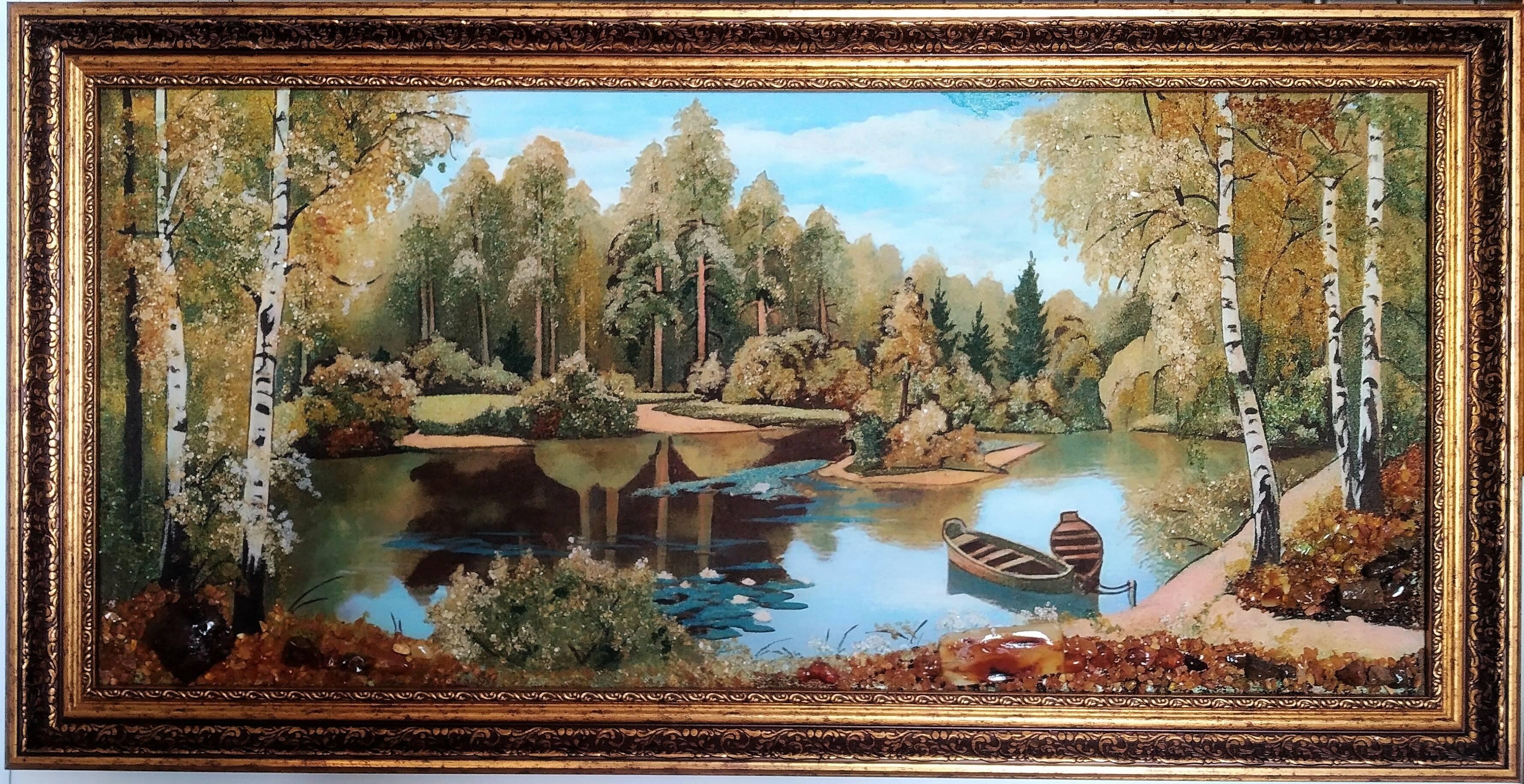 Картины из янтаря купить (фото)