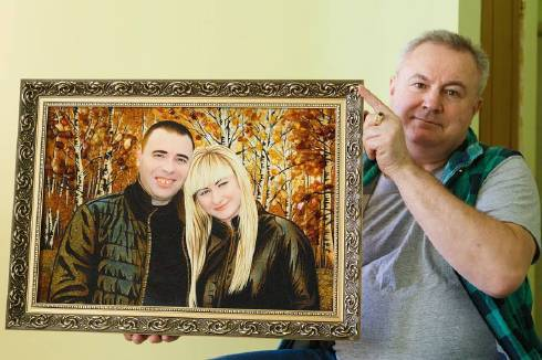 Портреты из янтаря (фото)
