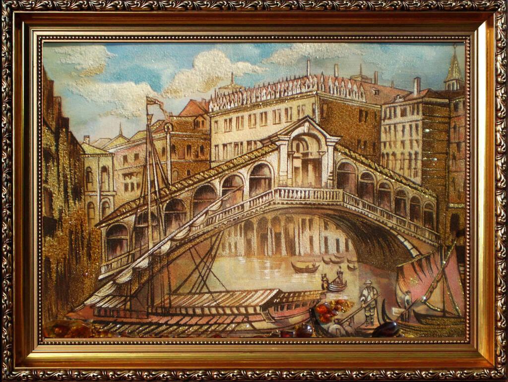 Картина из янтаря (Венеция)