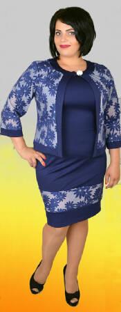 Женское платье, большие размеры (фото)