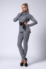 Теплый женский костюм (фото)