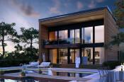 Купити будинки з профільованого бруса під ключ (фото)