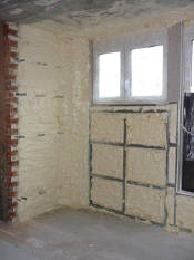 Дом теплоизоляция пенополиуретаном (фото)