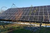 Наземная СЭС мощностью 30 кВт (72 фотомодуля) под «Зеленый» тариф, с. Тарновцы, Ужгородский р-н