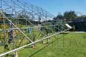 Наземная сетевая солнечная электростанция на 30 кВт (68 фотомодулей), «Зеленый» тариф, г. Мукачево