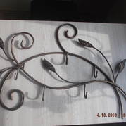 Кованая вешалка в коридор Лилит