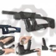 Автоматический газобаллонный пистолет Байкал МР-661К DROZD с бункерным заряжанием