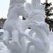 Снежные фигуры для детей