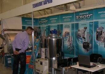 Підприємство «Технолог» представило новинки харчового обладнання на виставці «Імпродмаш і упаковка»-2011