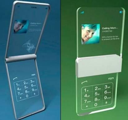Мобильный телефон из... стекла