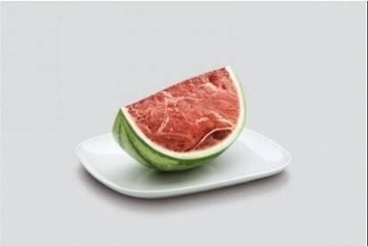 Вырастили арбуз с ароматом мяса?