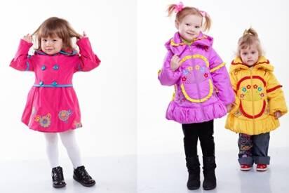 Нові моделі осінніх курток та плащів для маленьких модниць - Новини ... e6dbbfb3a455e