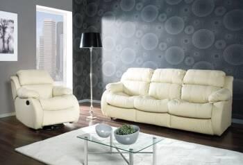 Лидеры комфорта в мире мягкой мебели - кожаные диваны с креслами REGLAINER