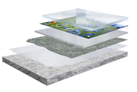 Декоративні наливні підлоги: 3d технології для надзвичайного ефекту!