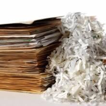 Нова послуга: знищення архівних документів