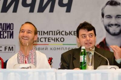 ЖК «Олимпийский городок»: Ник Вуйчич провел выступление в Киеве
