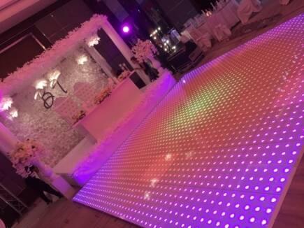 LED FLOOR - спецэффекты для драйвового праздника