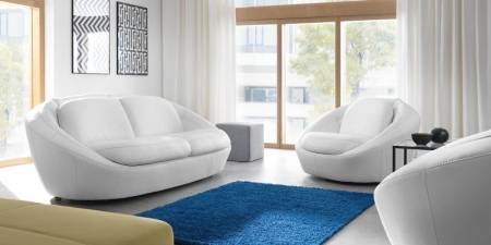 Лови новинку! Розкішні шкіряні дивани і крісла Planet з футуристичним дизайном!